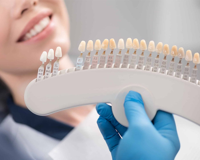 Paciente con implantes dentales